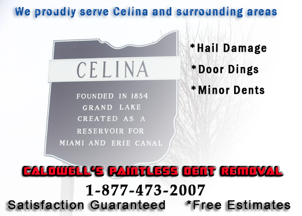 Celina Ohio | Paintless Dent Repair | Caldwell's Paintless Dent Removal